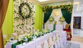 dịch vụ trang trí gia tiên ngày cưới đẹp